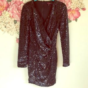 Xtaren holiday sequin dress. Reposh.